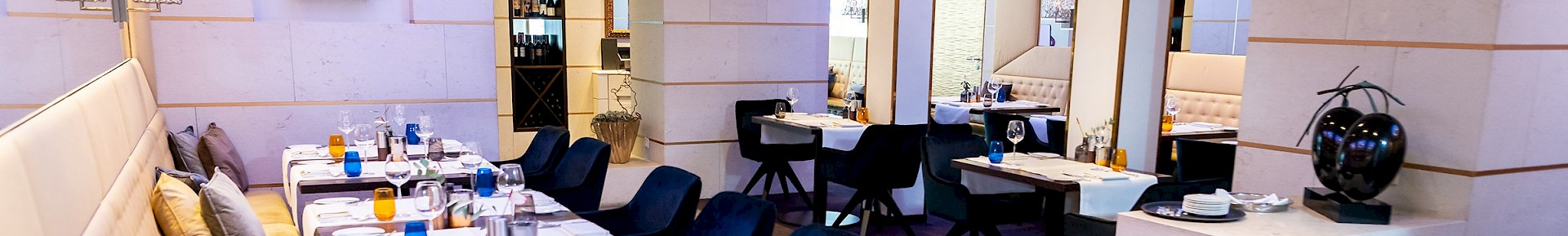 Enjoy breakfast and / or dinner in the stylish hotel restaurant