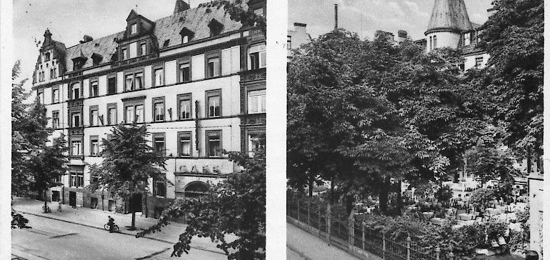 A photo of the Kaiserhof of decades ago