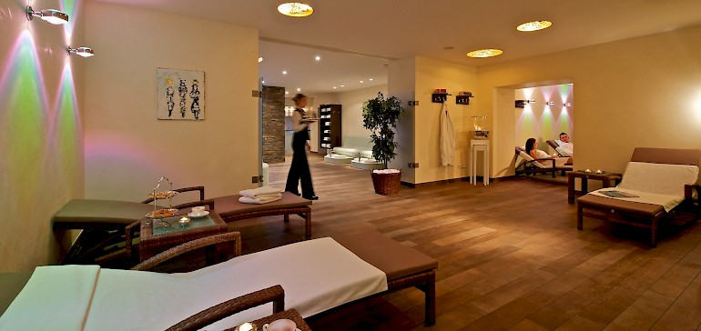 Relaxation are in the Kaiserhof Spa