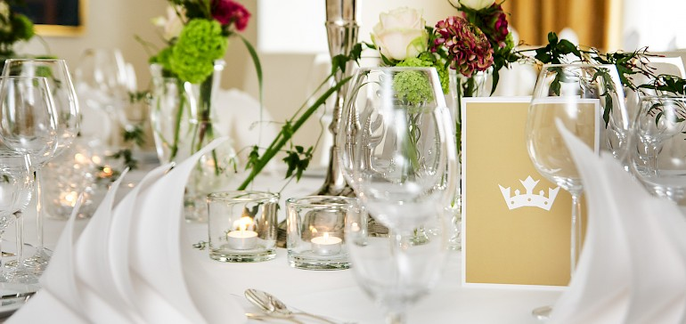 Stylish setting for your event