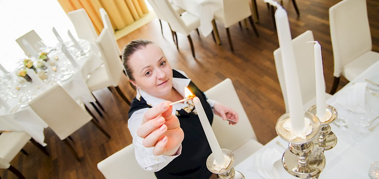 The service welcomes you to our function rooms