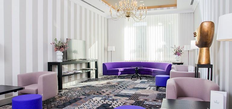 Lobby by designer Dieter Sieger