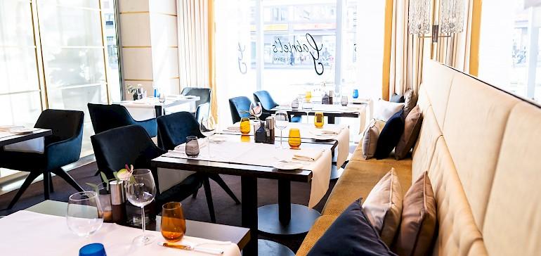 Stylisch restaurant Gabriel's in the hotel Kaiserhof