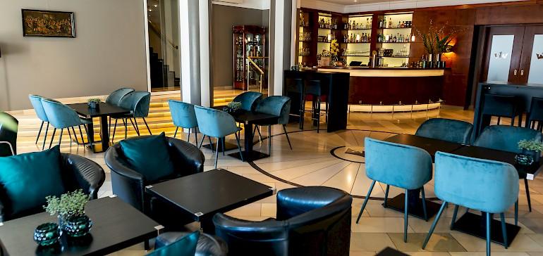 Stylisch bar in the hotel Kaiserhof