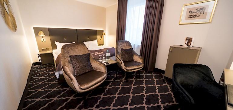 Exemplary deluxe room